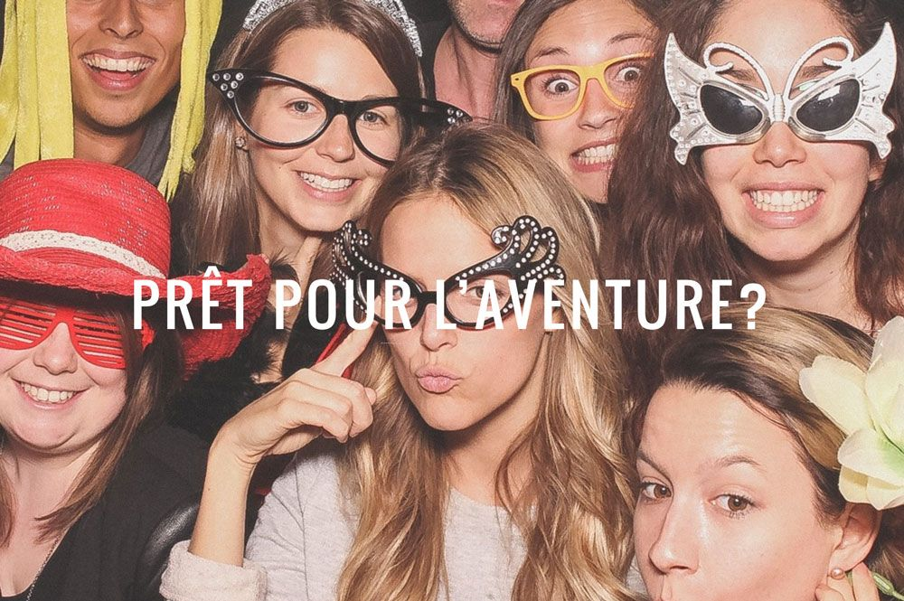 Photo booth rental Montreal - Deluxe Photo Booth